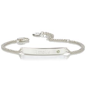 Personalised Birthstone Bracelet - August