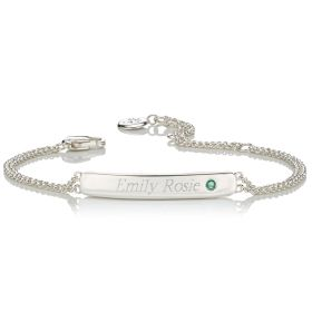 Personalised Birthstone Bracelet - May