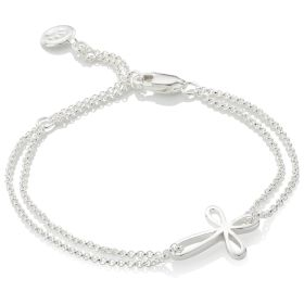Signature Cherish Cross Bracelet
