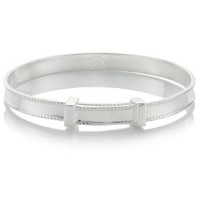Heritage Christening Bangle
