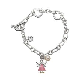 Whisper the Pink Fairy Wish Bracelet