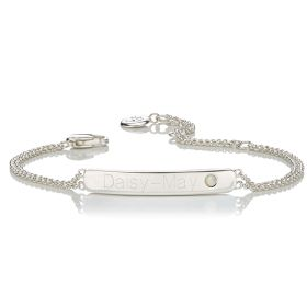 Personalised Birthstone Bracelet - October