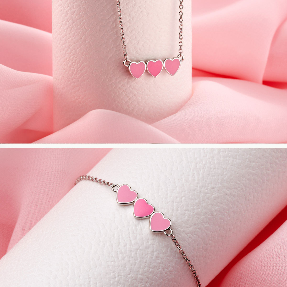 Dream Pink Heart Gift Set