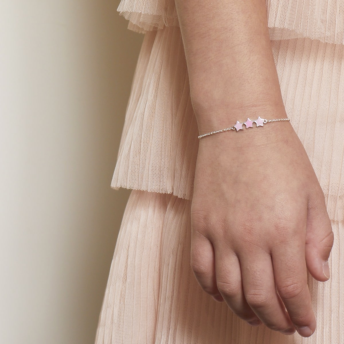 Dream Pink Star Bracelet