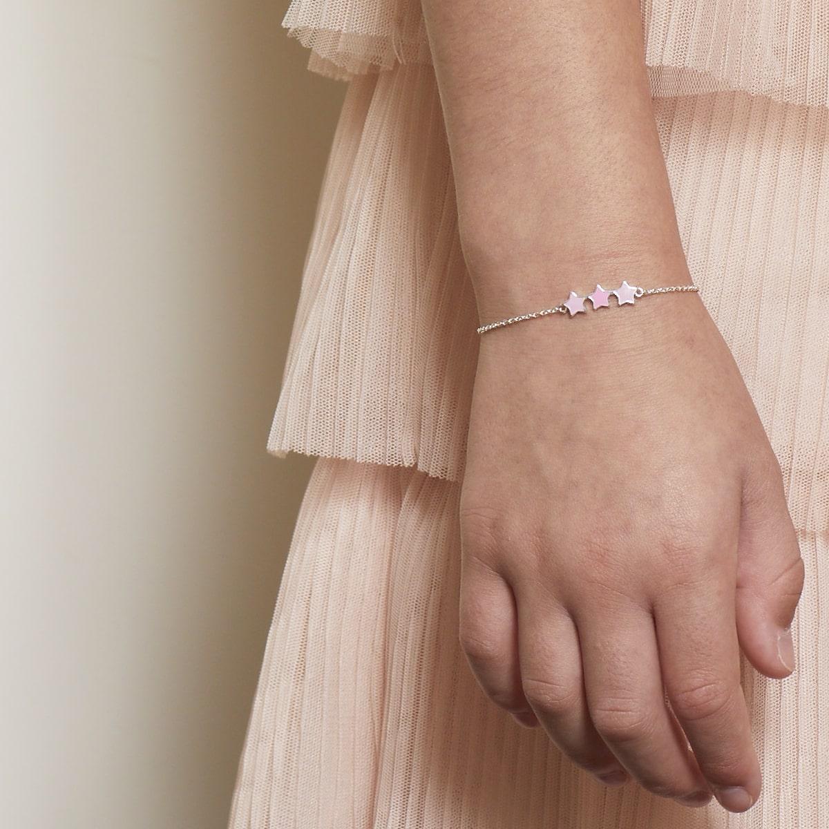 Dream Pink Star Bracelet