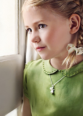 White Fairy Necklace